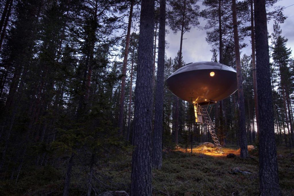 Tree Hotel in Harads, Sweden 2