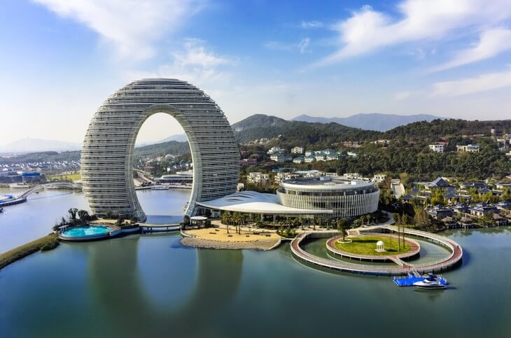 Sheraton Huzhou Hot Spring Resort (Хужоу, Китай)